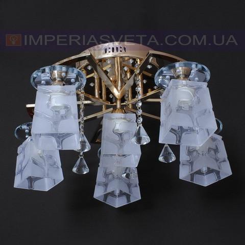 Потолочная люстра LED IMPERIA шестиламповая с пультом дистанционного управления и диодной подсветкой LUX-525310