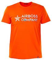 Футболка Airboss Mars Logo 271150003225 (помаранчева)