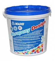 Mapei KERAPOXY DESIGN - двухкомпонентный декоративный кислотостойкий эпоксидный шовный заполнитель (3 кг )