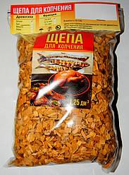 Щепа для копчения мяса, рыбы (Ольха), 3-6 мм