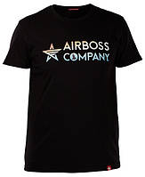 Футболка Airboss Mars Logo 271150003225 (чорна), фото 1