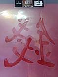 Трафарет многократного нанесения DeLine East,  64*44см, фото 6
