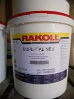 Клей ПВА Rakoll Duplit AL NEU з затверджувачем 31,5 кг