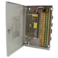 Импульсный блок питания BOX 12010/ 12V-10А: рассчитан на 18-ть приборов, с защитой