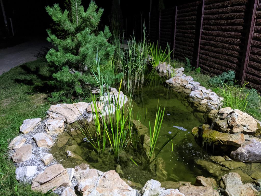 Как построить маленький пруд (часть3)
