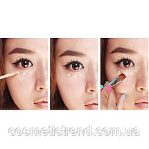 Коректор рідкий для очей і губ Liquid Concealer Stick Eye &Lip Long Lasting #2 (натуральний) 7мл, фото 3