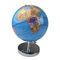 Глобус 32 см диаметр Колір: Синій., фото 1