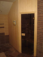 Двери для саун и бань Classic 70x190 (бронза)