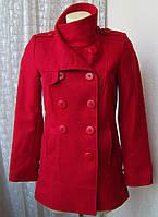 Пальто женское яркое модное демисезонное бренд 3 Suisses р.44-46 5019а