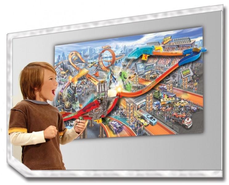 7129857b89d88 Хот Вилс Настенный трек автоматическое движение безумные трюки Hot Wheels  Wall Tracks Mid-Air Madness