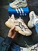 Мужские кроссовки  Adidas Ozweego  бежевые, фото 5