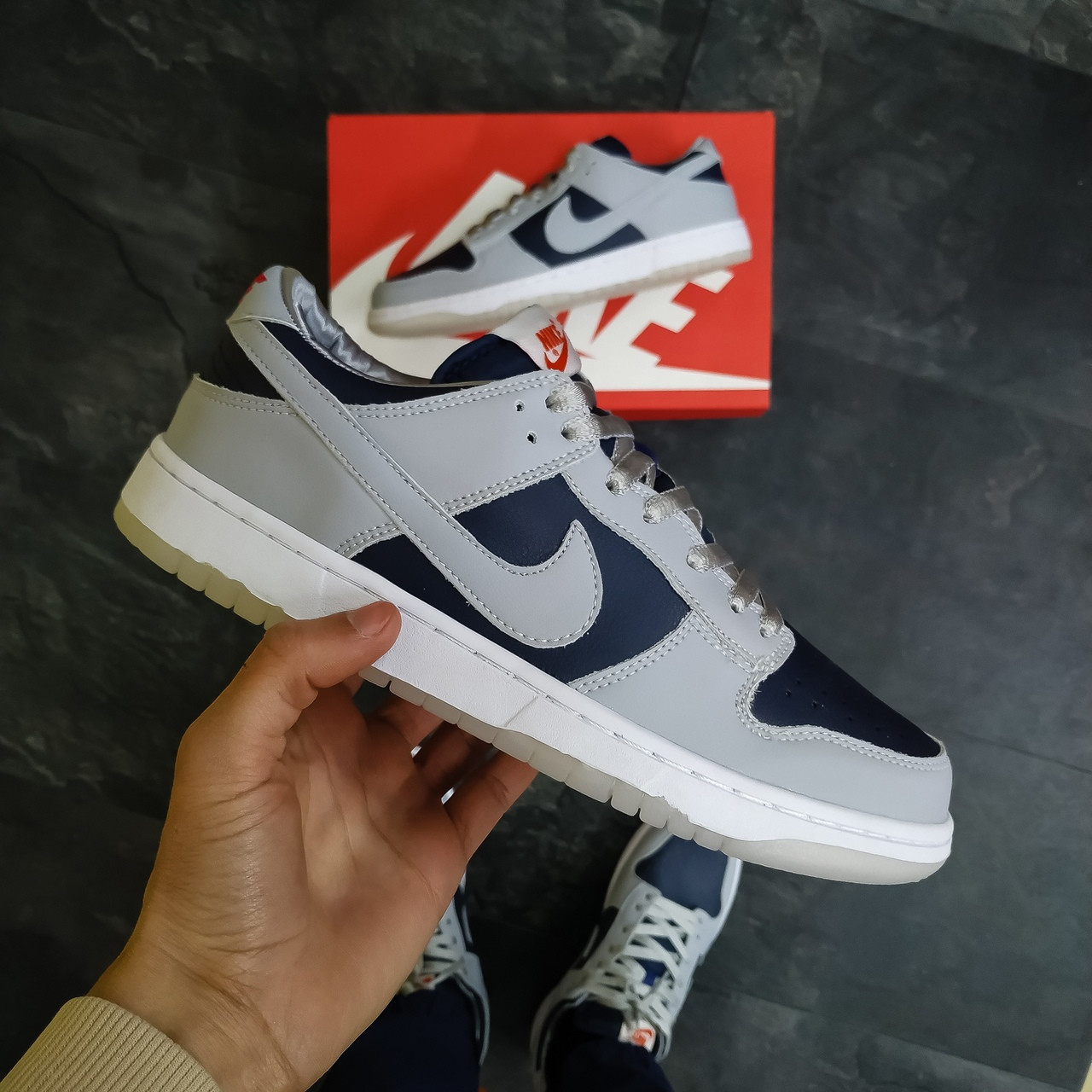 Мужские кроссовки Nike SB Grey