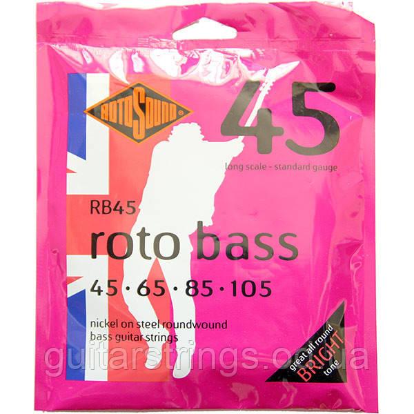 Струны Rotosound RB45 Roto Bass 45-105