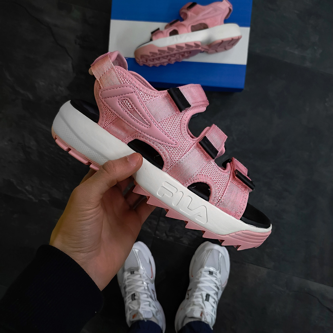 Босоножки женские Fila Sandal Pink