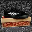 Чоловічі кеди Vans Old Skool All Black, фото 2