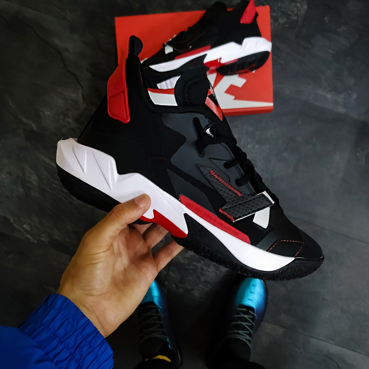 Кросівки Nike Why not Zero 4 black-red