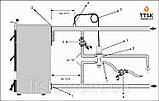Roda Brenner Classic BC-04 21 квт чугунный твердотопливный котел, фото 3