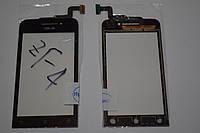Оригинальный тачскрин / сенсор (сенсорное стекло) для Asus Zenfone 4 A400CG A400CXG (черный цвет) + СКОТЧ