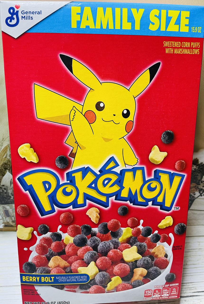 Сухой завтрак Pokemon воздушные фруктовые шарики