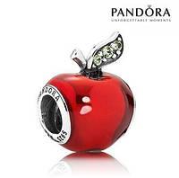 Шарм Яблоко Pandora серебро