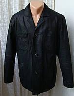 Куртка мужская натуральная кожа бренд Clockhouse р.50 5027
