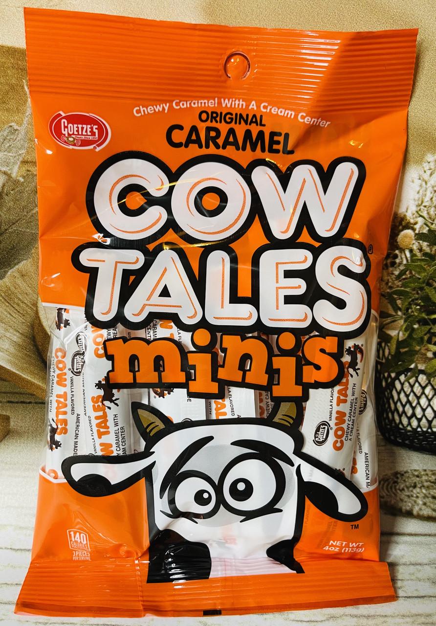 Жевательная карамель с кремом внутри Goetze's Cow Tales Original Caramel