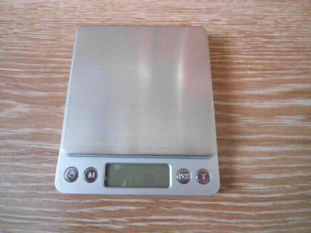 Ювелірні електронні ваги 0,1-3000г 2 чаші з батарейками точні ваги для зважування