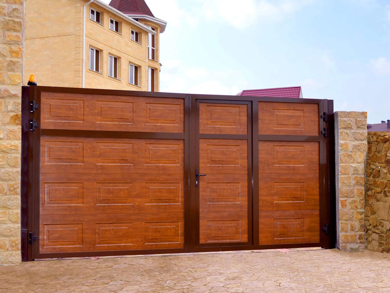 Комплект для распашных ворот