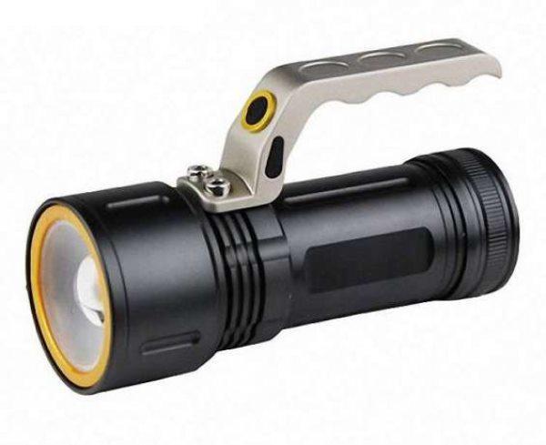 Ліхтар ліхтарик прожектор потужний POLICE BL-T801-zoom 3 режиму 2 акумулятора 2 зарядних пристрої ручний ліхтарик акумуляторний