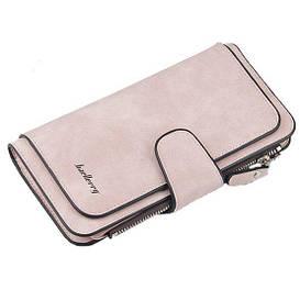 Гаманець жіночий Baellerry Pink 2345 розмір 18.8*10*2 см 5 відділень під купюри