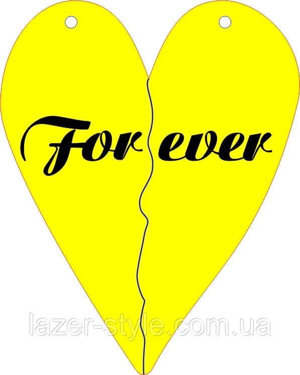 Слова для фотосессий  и декора Forever 5 подвеска