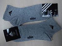Носки мужские Adidas, светло-серые, Турция