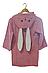 Халат дитячий з капюшоном, 6-7 років зростання 116-122 см., фото 3