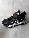 Черные кроссовки на парня. СТИЛЬНЫЕ КРОССОВКИ., фото 8