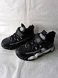 Черные кроссовки на парня. СТИЛЬНЫЕ КРОССОВКИ., фото 7