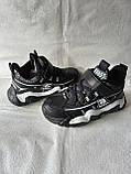 Черные кроссовки на парня. СТИЛЬНЫЕ КРОССОВКИ., фото 6