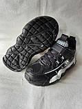 Чорні кросівки на хлопця. СТИЛЬНІ КРОСІВКИ., фото 5