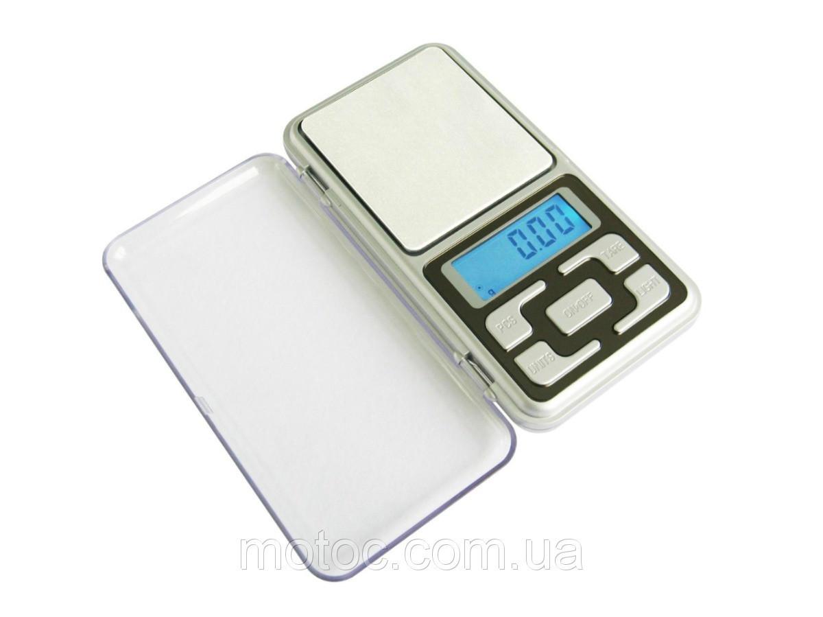 Весы ювелирные электронные высокоточные карманные 0,1- 500г сбатарейками в комплекте точные весы