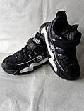 Черные кроссовки на парня. СТИЛЬНЫЕ КРОССОВКИ., фото 4