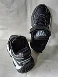 Чорні кросівки на хлопця. СТИЛЬНІ КРОСІВКИ., фото 3