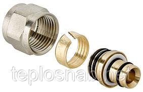Соединитель евроконус Valtec для металлополимерной трубы 16 (2,0)