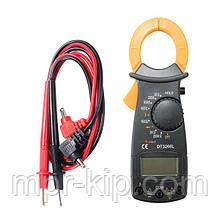 Кліщі струмовимірювальні DT3266L
