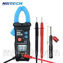 Струмові кліщі NKTECH NK210E (AC: 200A; DC:600; AC: 600V; Опір: 6 КОм)