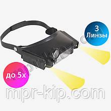 Бінокулярні окуляри VTMG6 5X(з бічними підсвічуваннями)