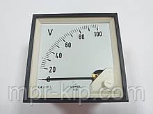 Аналоговий вольтметр LUMEL EA 19N E611 100V. Польща з ПДВ
