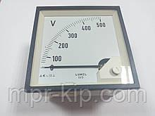 Аналоговий вольтметр LUMEL EA 19N E615 500V. Польща з ПДВ