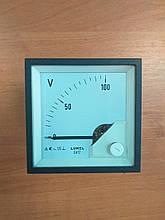 Аналоговий вольтметр LUMEL EA 17N E611 100V. Польща з ПДВ