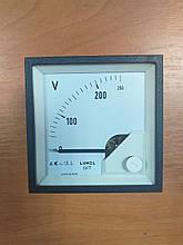 Аналоговий вольтметр LUMEL EA 17N E613 250V. Польща з ПДВ