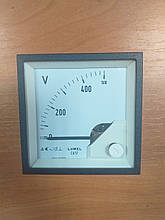 Аналоговий вольтметр LUMEL EA 17N E615 500V. Польща з ПДВ