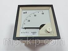 Аналоговий вольтметр MA17N A505 60 mV LUMEL Польща з ПДВ